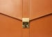 Leather Lock Briefcase Tan Leather 6