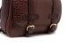 Leather Zipper Backpack Shrunken Chocolate7 1