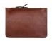 Medium Chestnut Zipper Pouch Made In Usa Frank Clegg 1