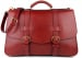 Red Harness Belting Leather Lawyers Briefcase Frank Clegg Made In Usa 1