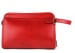 Red Large Belting Leather Travel Kit Frank Clegg Made In Usa 1