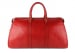 Red Leather Duffle Bag Hampton Frank Clegg 2