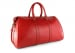 Red Leather Duffle Bag Hampton Frank Clegg 4