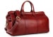Red Signature Leather Duffle Bag Frank Clegg Made In Usa 2 2
