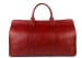 Red Signature Leather Duffle Bag Frank Clegg Made In Usa 3 2