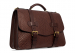 Small Lawyers Briefcase Brown Shrunken6