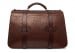 Small Lawyers Briefcase Brown Shrunken7