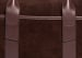 Suede Commuter Briefcase Chocolate7 1