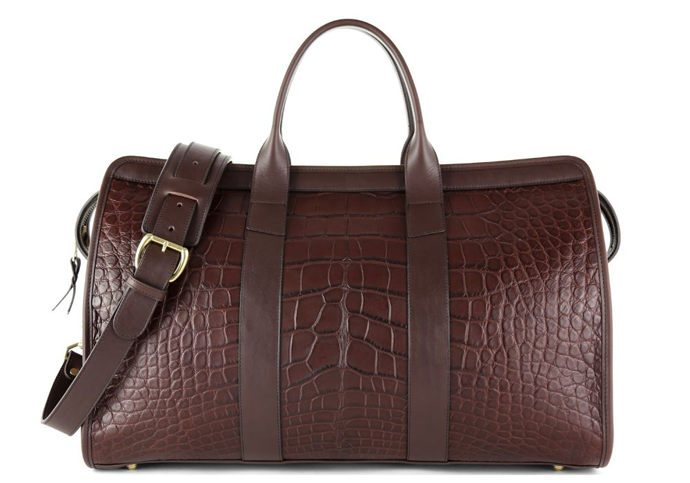 b8eda2d3 American Alligator Duffle Bag | Frank Clegg