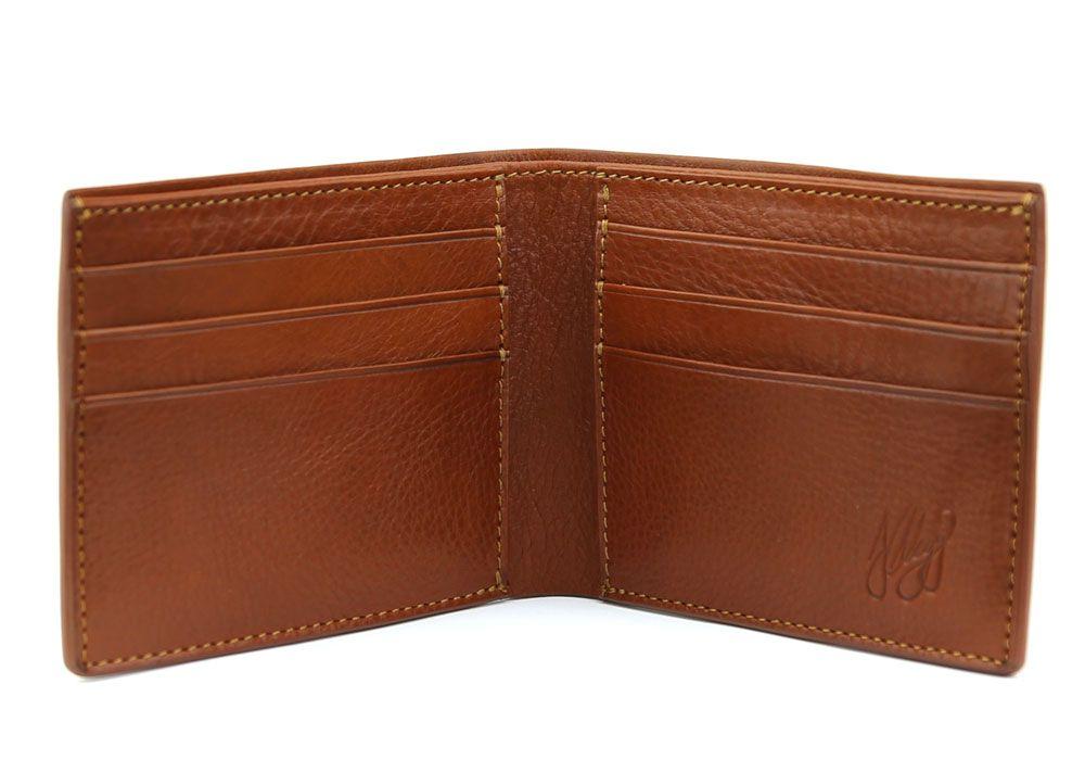 a5fd499b4882 Men's Leather Bifold Wallet | Handmade Leather Wallets | Frank Clegg