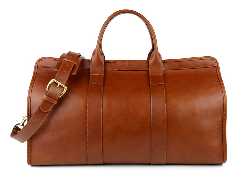 1d166f362 Handmade Leather Travel Duffel Bag | Weekender Bags | Frank Clegg