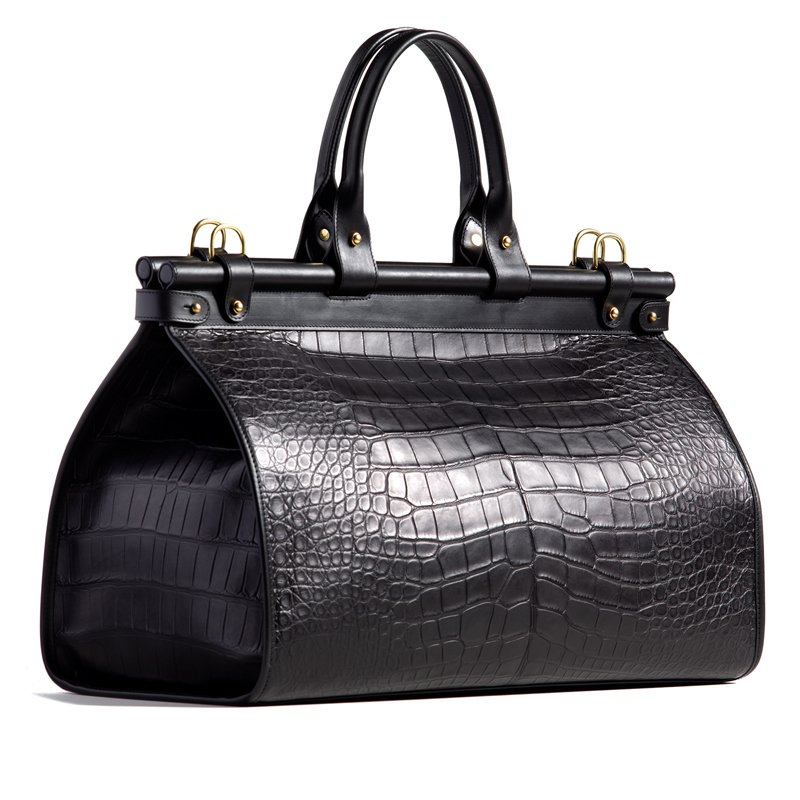 Alligator Carpetbag in American Alligator