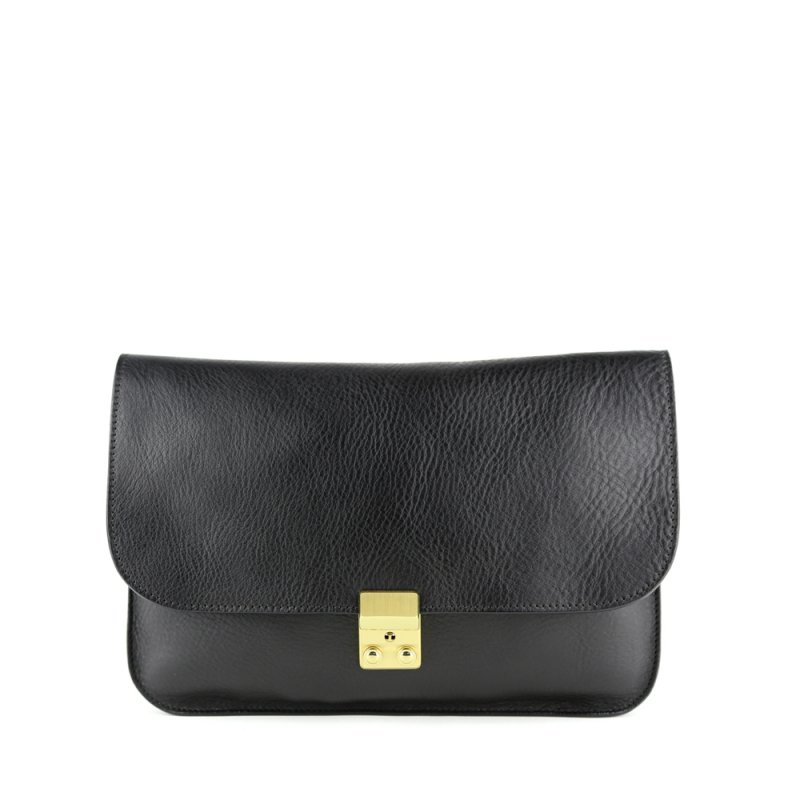 Sadie Shoulder Bag  in Smooth Tumbled Leather