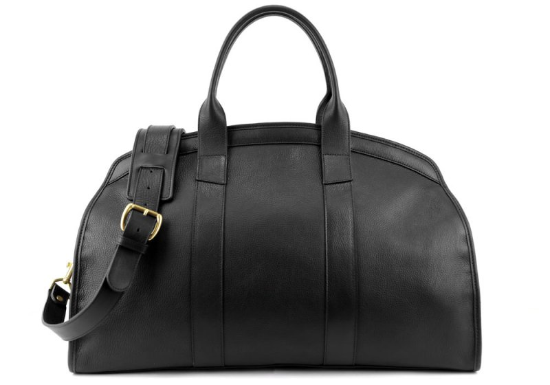 Aiden Duffle -Black-Sunbrella Lining with Pocket in