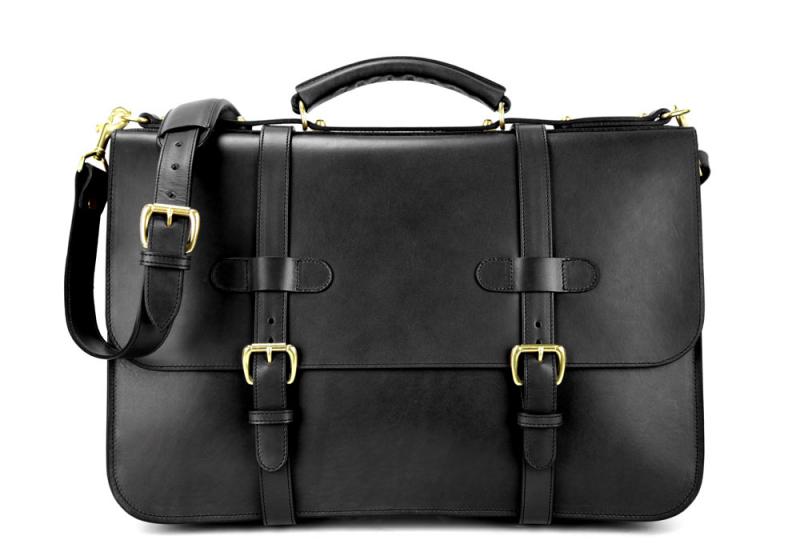 English Briefcase-Black in