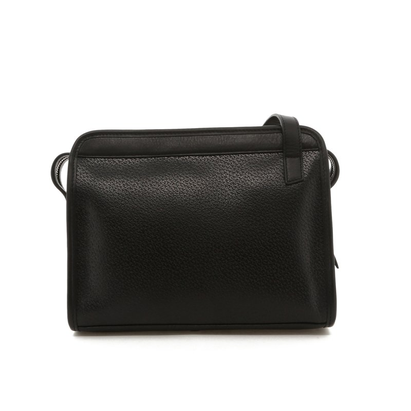 Blazer Bag - Black Pebble Pigskin Leather in