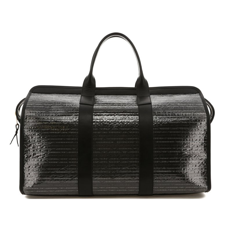Signature Travel Duffle - Black/Black Trim - Sail Cloth in