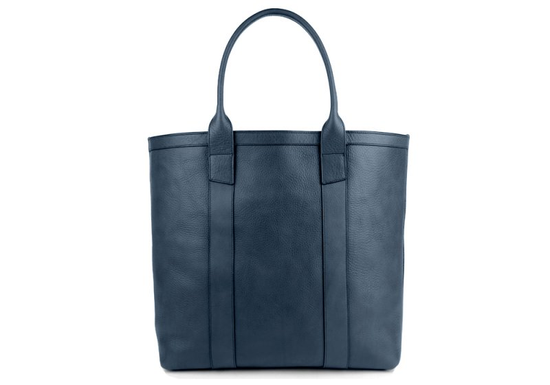 Tall Tote -Sunbrella Lining with Pocket-Navy in