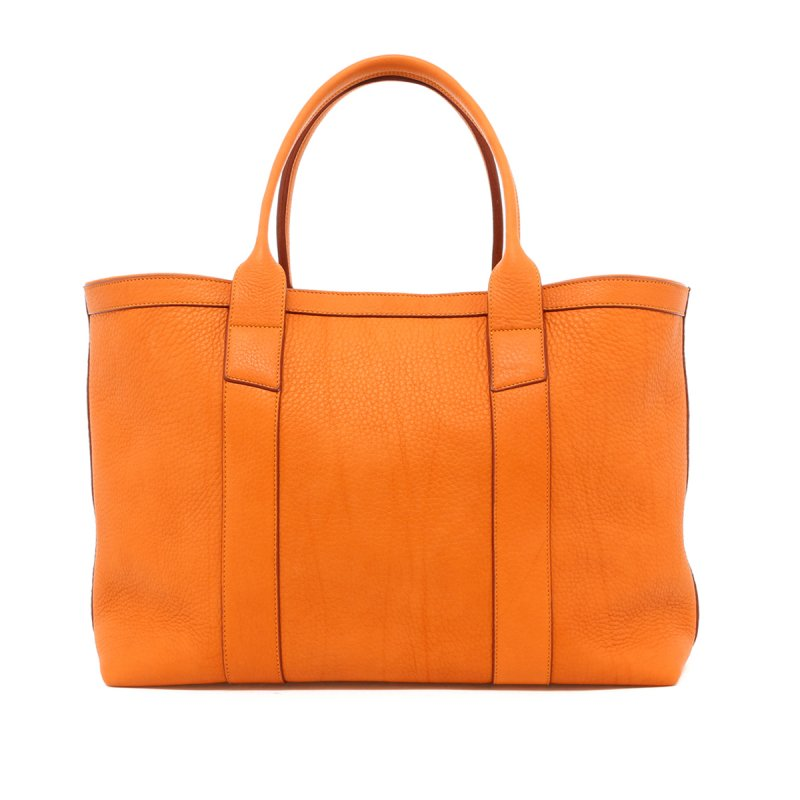 Large Working Tote - Camel - Royal Interior - Soft Pebble in