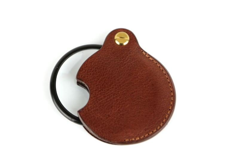 Pocket Magnifying Glass-Chestnut in