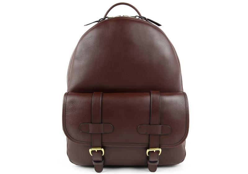 Zipper Backpack-Chocolate in