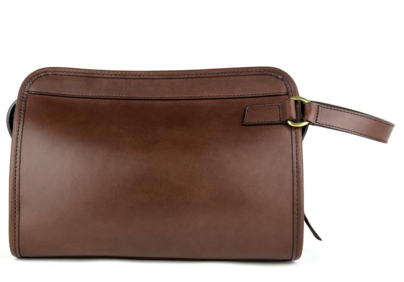 Large Travel Kit Belting-Chocolate in