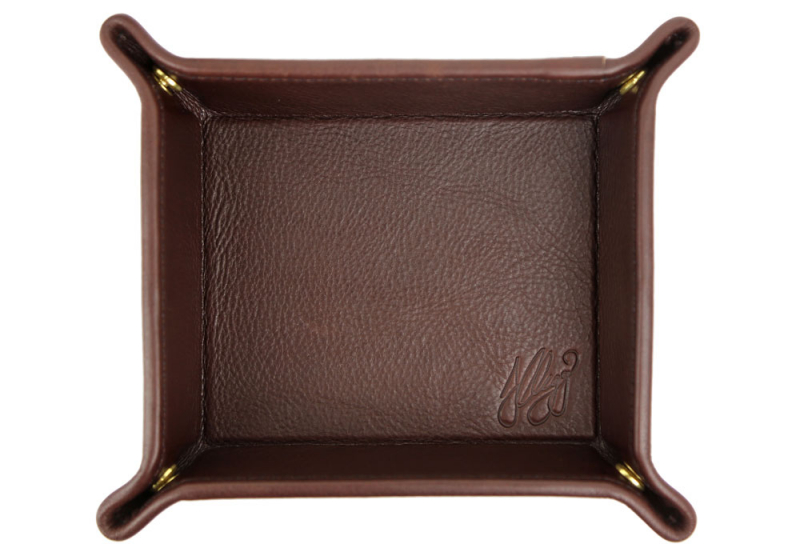 VALET TRAY-Chocolate in