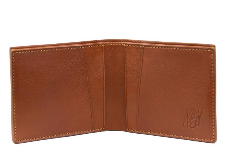 The Classic Wallet -Cognac in