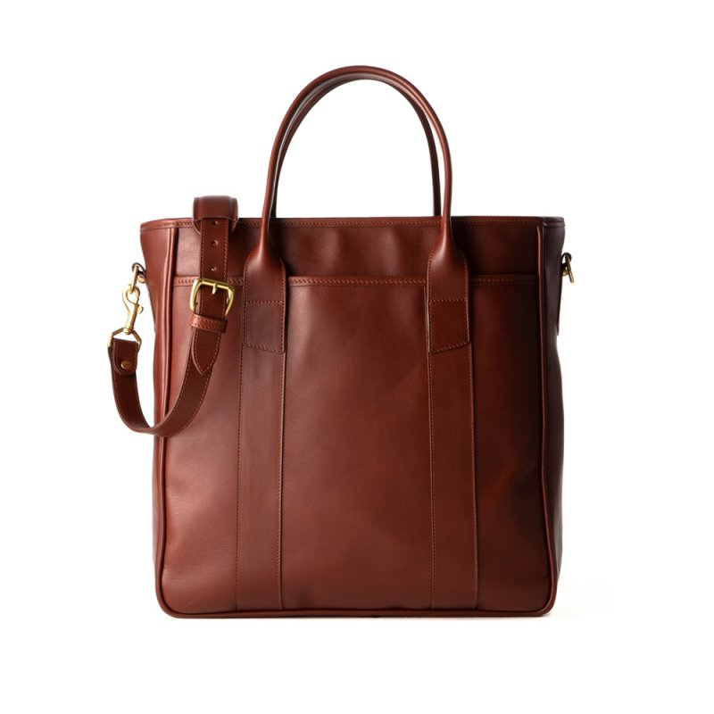 Commuter Zipper Tote Bag Final 0001 Commuter Tote Bag Chestnut5