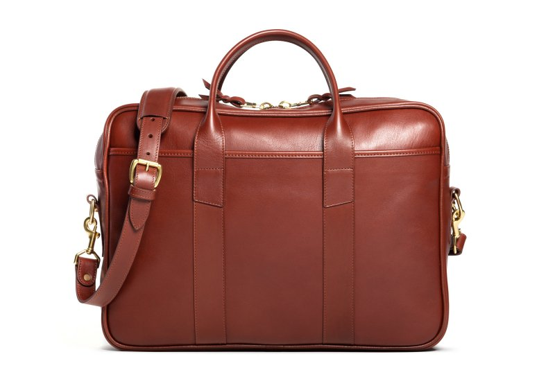 Commuter Briefcase-Chestnut in