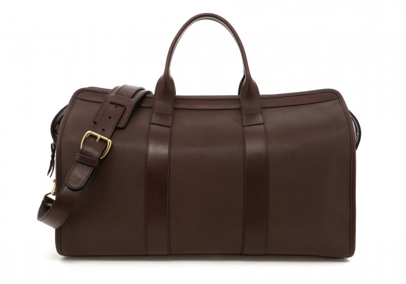 Chèvre Travel Duffle-Chocolate in