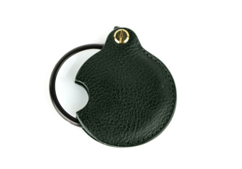 Pocket Magnifying Glass-Green in