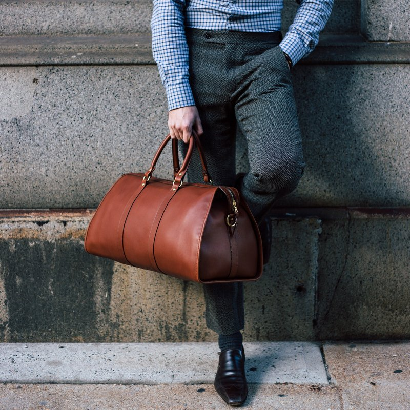Hampton Leather Duffle Bag