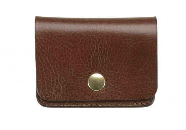 Coin Wallet-Chestnut in