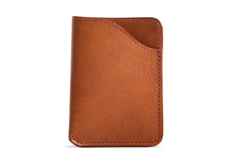 Card Wallet-Cognac in