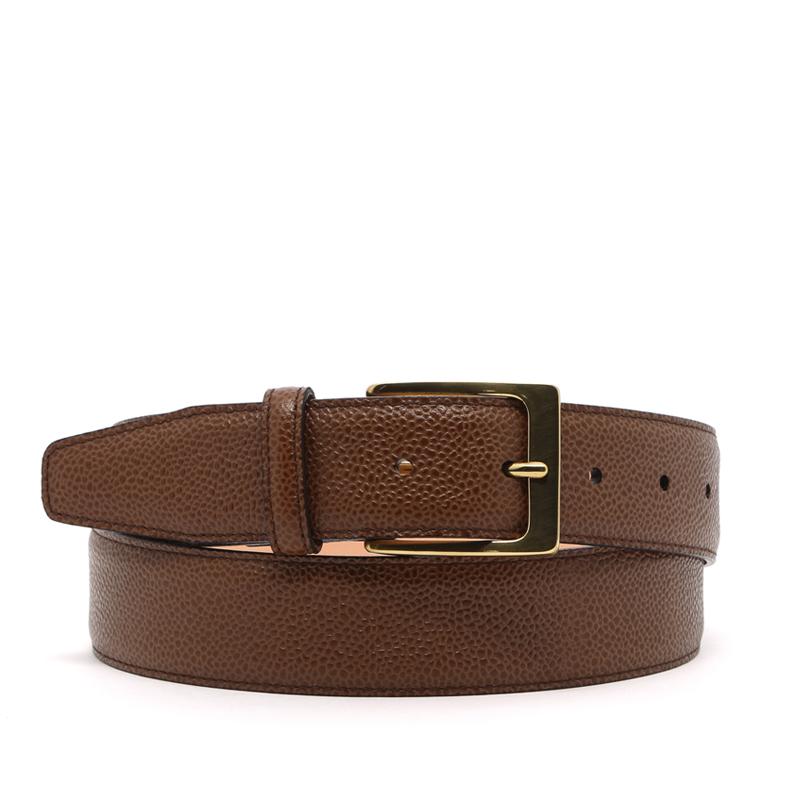 Scotch Grain Leather Belt in Hatch_Grain