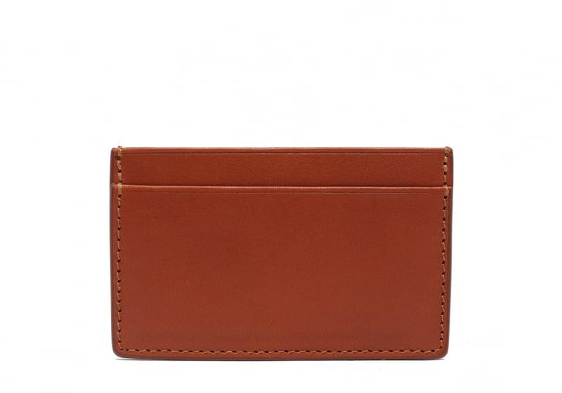 Mini Card Wallet-Cognac in