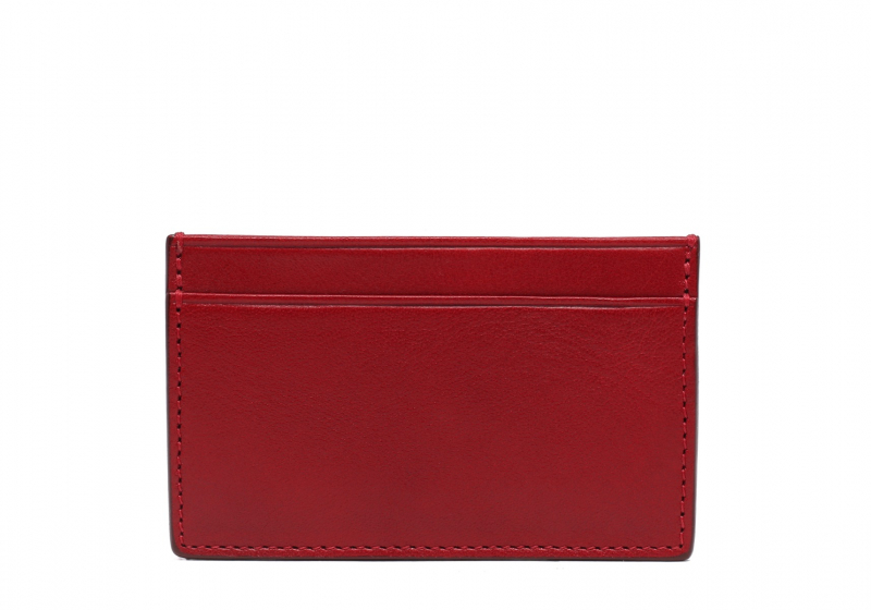 Mini Card Wallet-Red in
