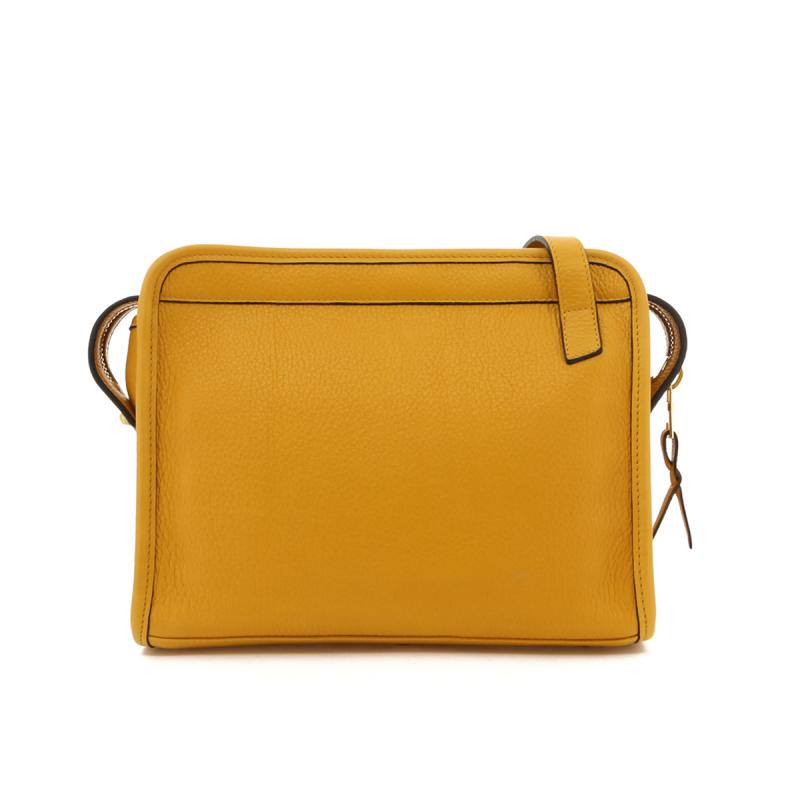 Blazer Bag - Mustard/Lilypad Interior - Smooth Tumbled in