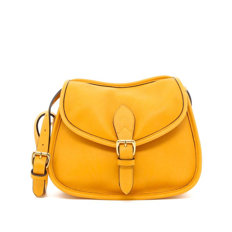 Rider Bag - Mustard - Tumbled in