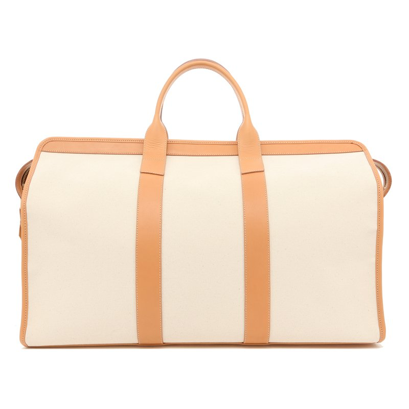 Compass Duffle - Natural/Natural Trim - 18oz Canvas in