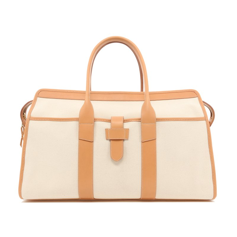 Troy Duffle - Natural / Natural Trim - 18oz Canvas in