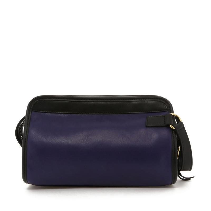 Small Travel Kit - Purple/Black Trim - Grey Interior in