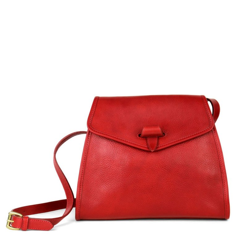 Tuscany Shoulder Bag in Smooth Tumbled Leather