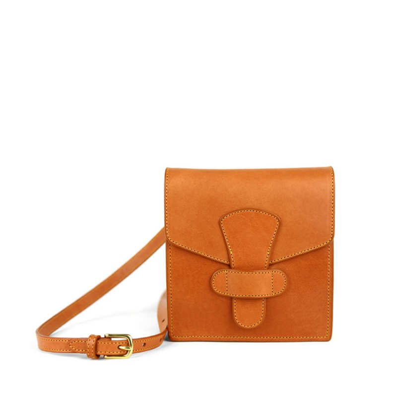 Adelie Shoulder Bag in Harness Belting Leather