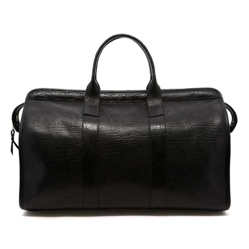 Signature Travel Duffle - Black/Black Interior - Sporadic Leather  in