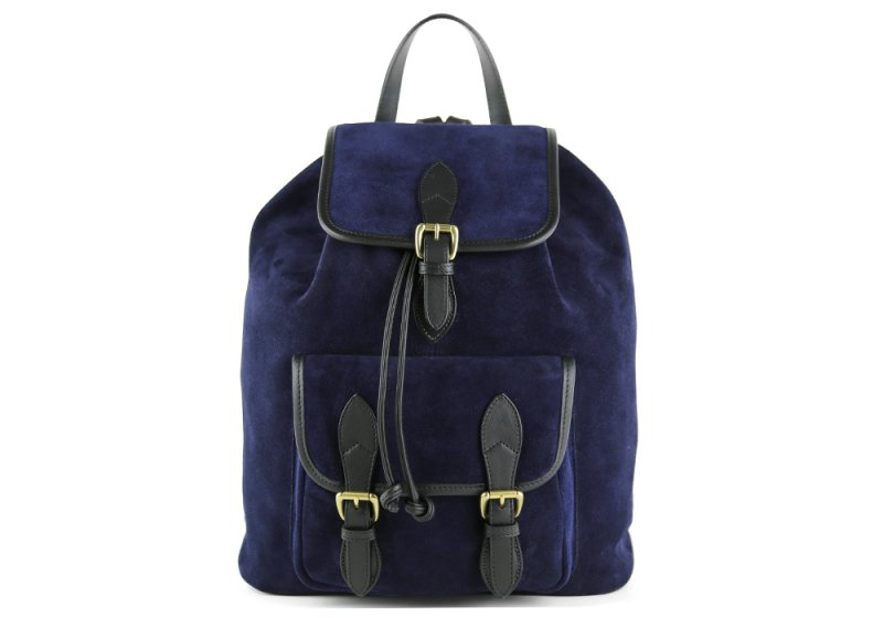 Suede Classic Backpack -Navy/Black in