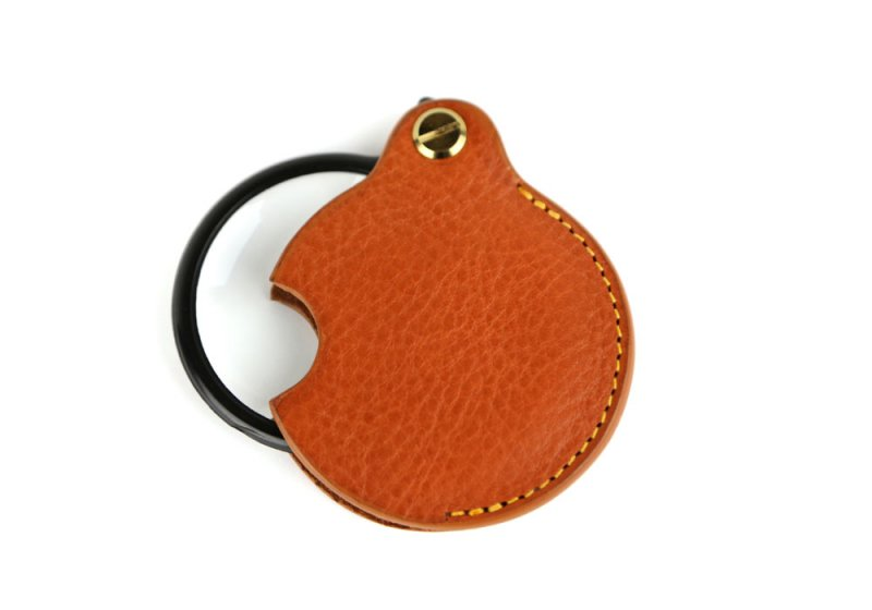 Pocket Magnifying Glass-Tan in