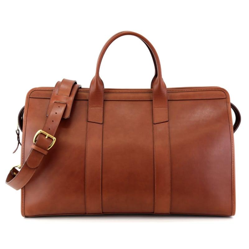leather weekend duffel bag