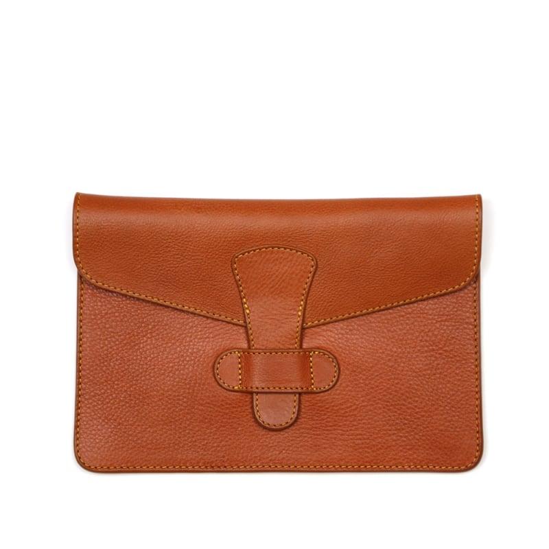 iPad Mini Case  in Smooth Tumbled Leather